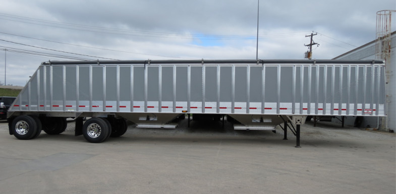 Spread Axle Trailer Weights : Cornhusker more payload means profit